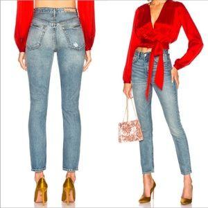 GRLFRND The Karolina High Waist Skinny Leg Jeans
